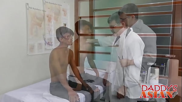 Asian anal, Daddy anal, Inspection, Doctor anal