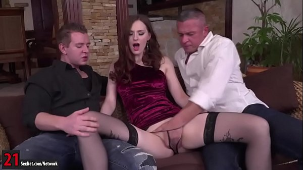 Double, Redhead, Double anal, Double penetration, Russian anal