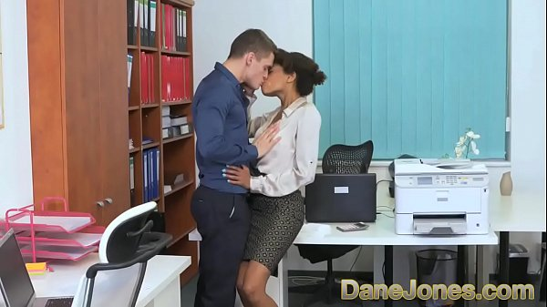 Ebony, Young girl, Office girl