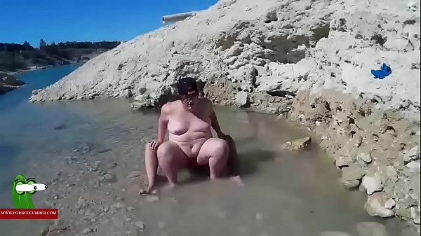 Woman, Hidden beach, Beach hidden