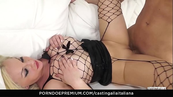 Casting, Italian, Casting anal, Anal casting, Hot amateur