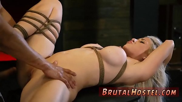 Tied, Creamy pussy, Breast
