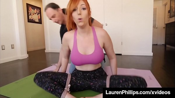 Yoga, Red head, Tied up