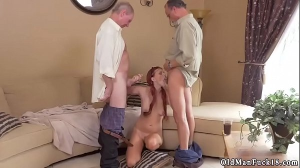 Old man, Old and young, Old pussy, Inside cum